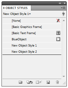 Create All Object Styles